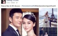 Sao Việt ngưỡng mộ đám cưới của Huỳnh Hiểu Minh - Angelababy