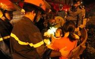 Những người mắc kẹt ở đám cháy chung cư Xa La