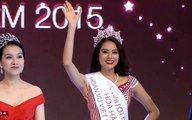 Vượt scandal, Phạm Thị Hương đăng quang Hoa hậu Hoàn vũ Việt Nam 2015