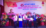 Kỷ niệm 45 năm thành lập Bệnh viện Đa khoa Đống Đa - Hà Nội