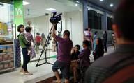 Xác định người cản trở phóng viên tác nghiệp vụ cháy chung cư ở Linh Đàm
