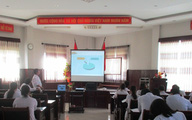 Bệnh viện Mắt Huế tổ chức tập huấn quản lý chất thải y tế