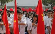 Học sinh Hà Nội khai giảng năm học mới theo hình thức tập trung tại trường