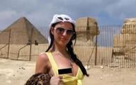 Ai Cập phẫn nộ mẫu quay phim khiêu dâm bên kim tự tháp