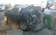 Tai nạn liên hoàn, tài xế ô tô 4 chỗ thoát chết dù xe nát bét