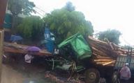 Tai nạn nghiêm trọng, một tài xế kẹt cứng trong cabin