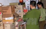 Phát hiện nhiều thực phẩm chức năng giả nhập từ Trung Quốc