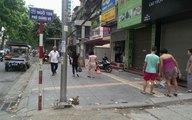 Hà Nội: Một xe ôm bất ngờ gục xuống đường tử vong