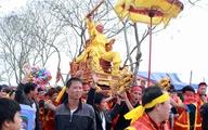 """Độc đáo lễ hội rước """"Vua"""", """"Chúa"""" sống ở Hà Thành"""