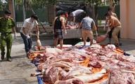 Hơn một tấn thịt nghi có chất tạo nạc bán cho công nhân