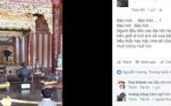 Sự thật hình ảnh chàng trai ngồi tạo dáng trên ngai vàng triều Nguyễn
