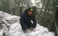 Hy hữu, tuyết rơi ở Hà Nội