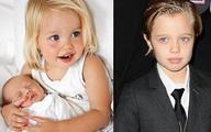 6 nhóc tỳ nhà Jolie-Pitt đổi thay ngỡ ngàng qua năm tháng