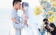 Thi Thi diện váy cưới gần 11 tỷ bước trên thảm hoa