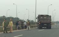 Nghi vấn chặn xe tải vi phạm, một chiến sĩ CSGT bị tông nguy kịch