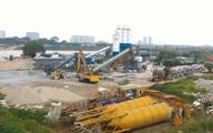 Hà Nội: Trạm trộn bê tông trái phép trên đất nông nghiệp
