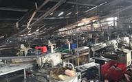 Hơn 200 chiến sĩ cứu đám cháy lớn ở xưởng may