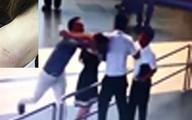 """Vì sao cấm bay với 2 người đàn ông """"bắt nạt"""" nữ nhân viên sân bay?"""