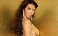 Hà Anh bất ngờ được ngồi ghế giám khảo cùng Miss Universe 2005
