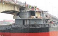Hải Dương lại cấm xe đi qua cầu An Thái bị tàu đâm gãy