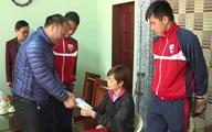 V-league tạm nghỉ, CLB bóng đá FLC Thanh Hóa họat động từ thiện