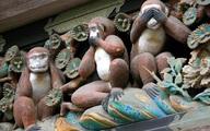 Ý nghĩa của tượng khỉ Tam Không trong chùa