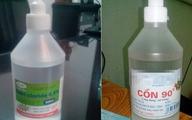 Mẹ rửa mũi cho con nhầm nước muối sinh lý với cồn 90 độ