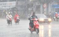 Hà Nội có mưa rào rải rác, có nơi có dông