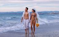 Ảnh cưới mặc bikini gợi cảm của Y Phụng