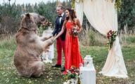 Cặp đôi 8X 'mời' gấu tạ rưỡi làm chủ hôn