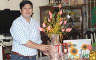 Hoa sen ướp tươi 1 triệu đồng/bình xuất khẩu nhiều nước Âu Á