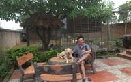 Trước khi bị tố buôn ngà voi, Quang tèo từng khoe nhà vườn tiền tỷ