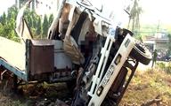 3 người tử nạn trong đầu ôtô tải biến dạng