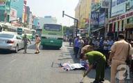 Cô gái trẻ bị xe buýt kéo lê, tử vong tại chỗ trên đường phố Sài Gòn