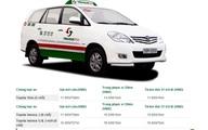 """Những bảng giá cước taxi khiến khách hàng """"tức"""" sau khi giá xăng giảm"""