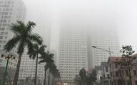 Sương mù bao phủ Hà Nội, Miền Bắc có mưa những ngày tới