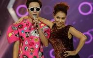Thu Minh bất ngờ bị thí sinh kéo lên sân khấu