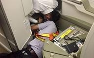 Toát mồ hôi tìm iPhone cho khách thương gia trên máy bay