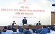 Khai mạc kỳ họp thứ 11, Quốc hội khoá XIII: Quyết định nhiều vấn đề trọng đại của đất nước