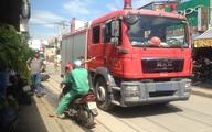TP. HCM: Va chạm với xe cứu hỏa, người đàn ông tử vong