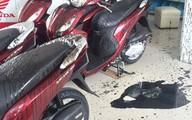 """Nghệ An: Cửa hàng xe máy bị ném """"bom bẩn"""""""