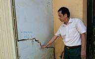 Huyện Ngọc Lặc (Thanh Hóa): Thi công tuyến kênh, hơn trăm hộ dân bị nứt nhà