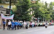 """Hàng nghìn sinh viên tham gia chương trình """"Ngày Đi bộ vì Môi trường"""" tại Bà Rịa – Vũng Tàu"""