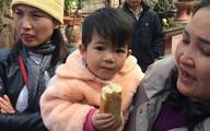 Bé gái 2 tuổi xinh xắn bị mẹ bỏ lại chùa kèm lá thư nhờ sư thầy nuôi giúp