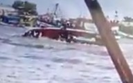 Chìm tàu chết 2 người ở cảng Gành Hào