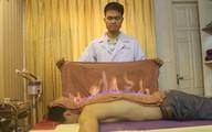 Kỳ lạ đốt lưng trị mệt mỏi, cảm cúm đau nhức xương khớp