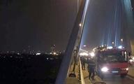Đi vệ sinh ở cầu Nhật Tân, người đàn ông rơi xuống sông mất tích