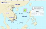 Áp thấp nhiệt đới đang mạnh dần trên biển Đông