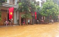 Mưa lớn gây ngập lụt ở Tuyên Quang, thủy điện phải xả lũ