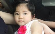 Hình ảnh xinh như công chúa của bé gái Sapa suy dinh dưỡng sau 10 tháng được nhận nuôi